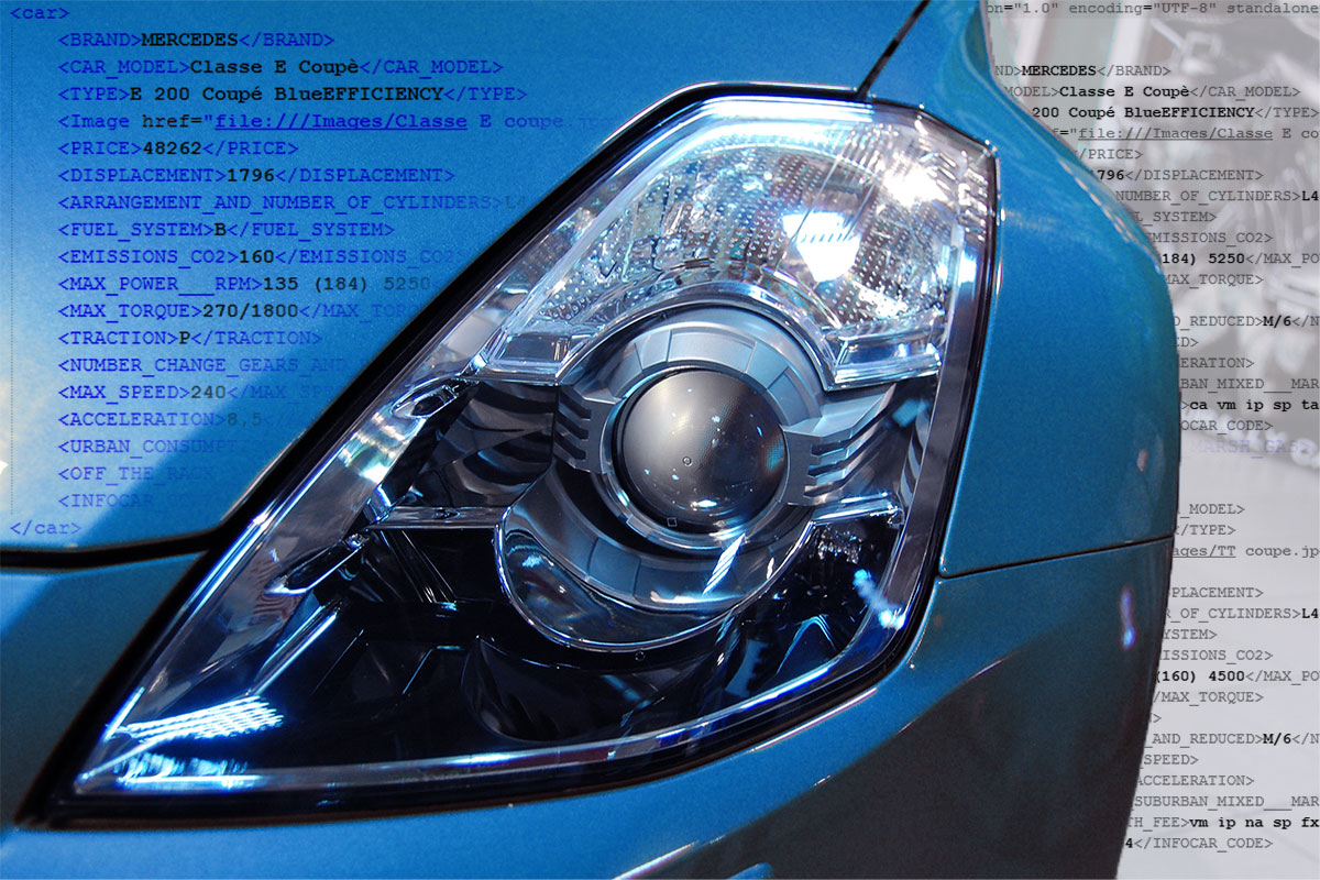 Used car sales site auto trader feed xml