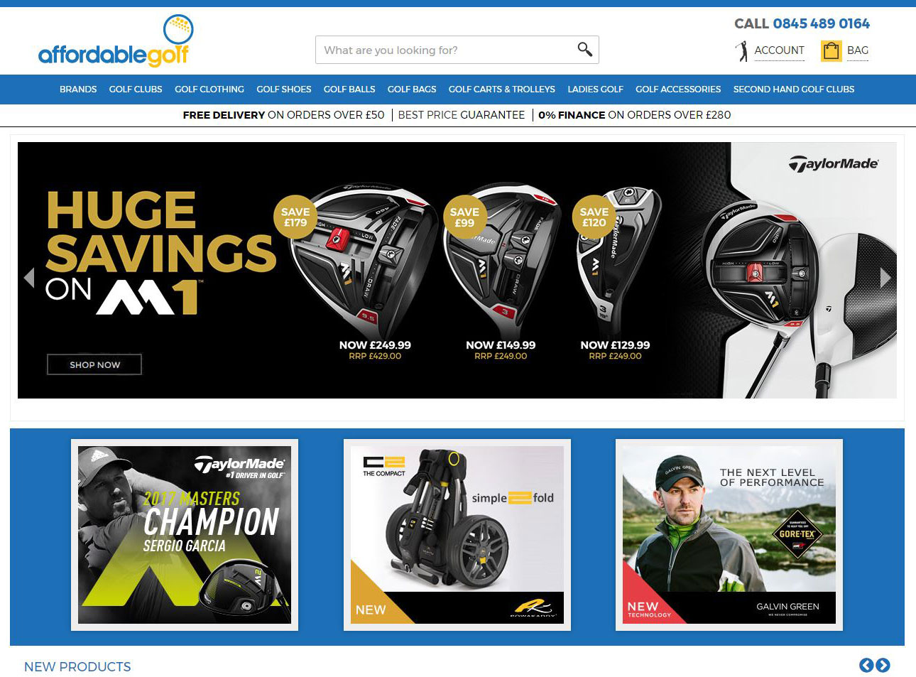Affordable Golf Magento Development