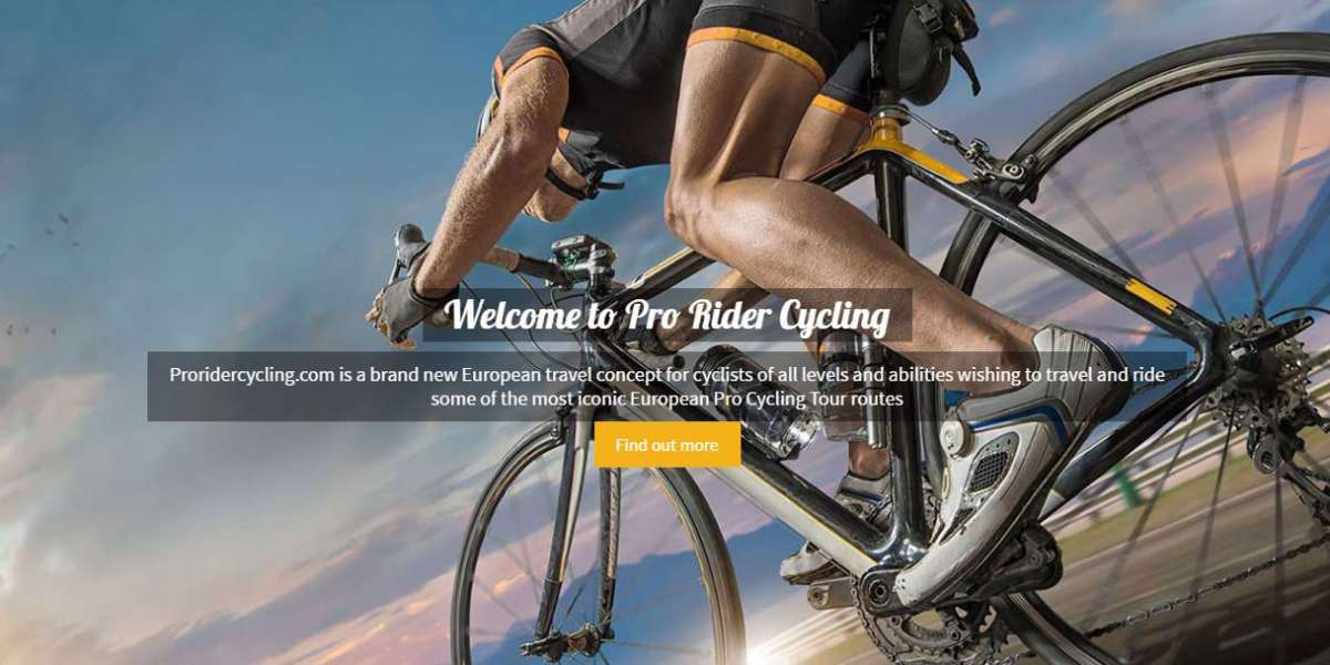 Pro Rider Cycling CMS Website