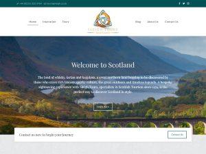 Sleigh Tours Scotland - web design for tour operator, travel agent, destination management company