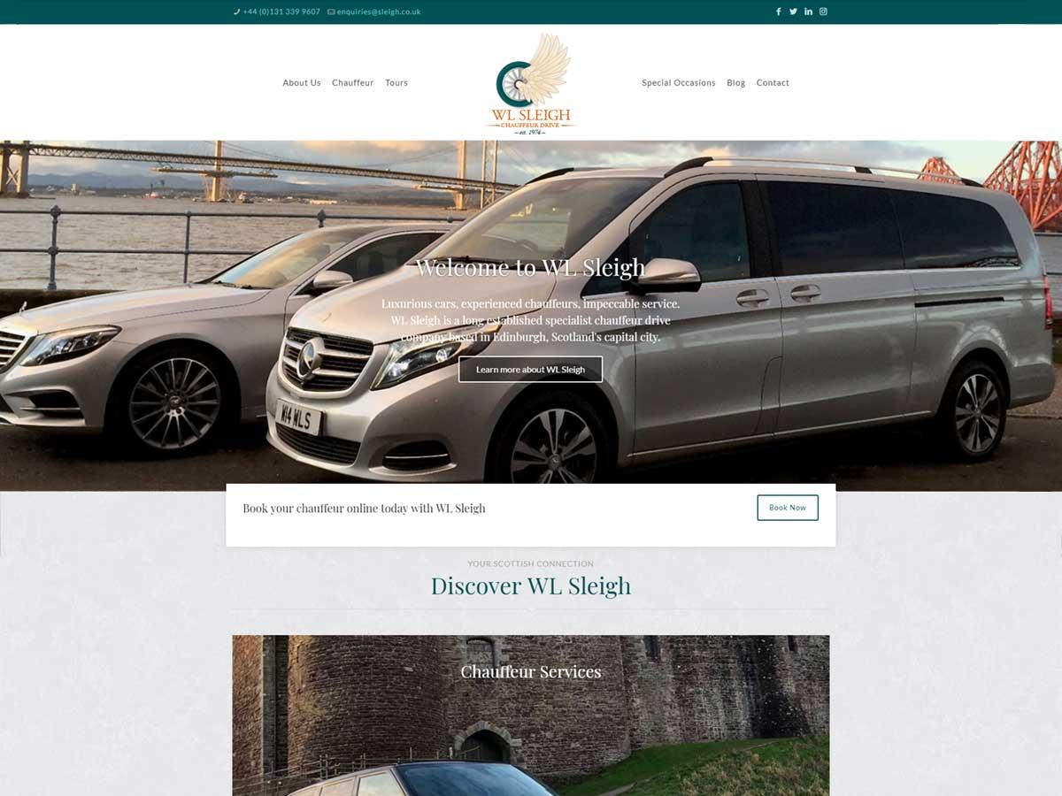 WL Sleigh Web Design
