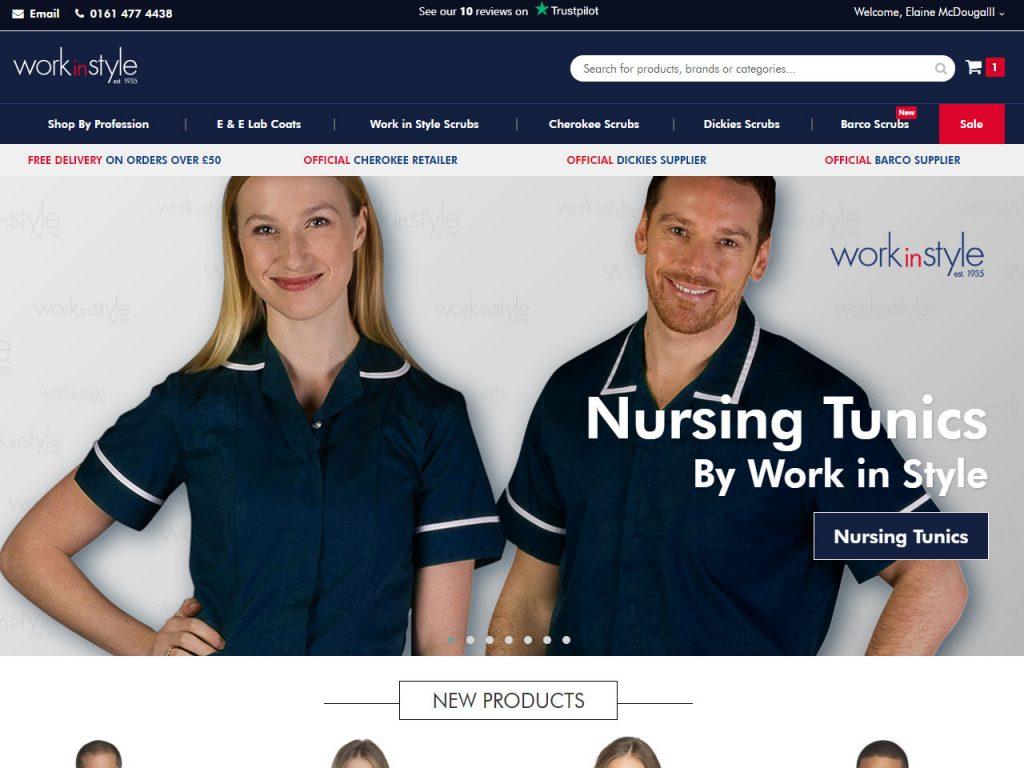 Work in Style - medical, nursing, healthcare, dental uniforms supplier